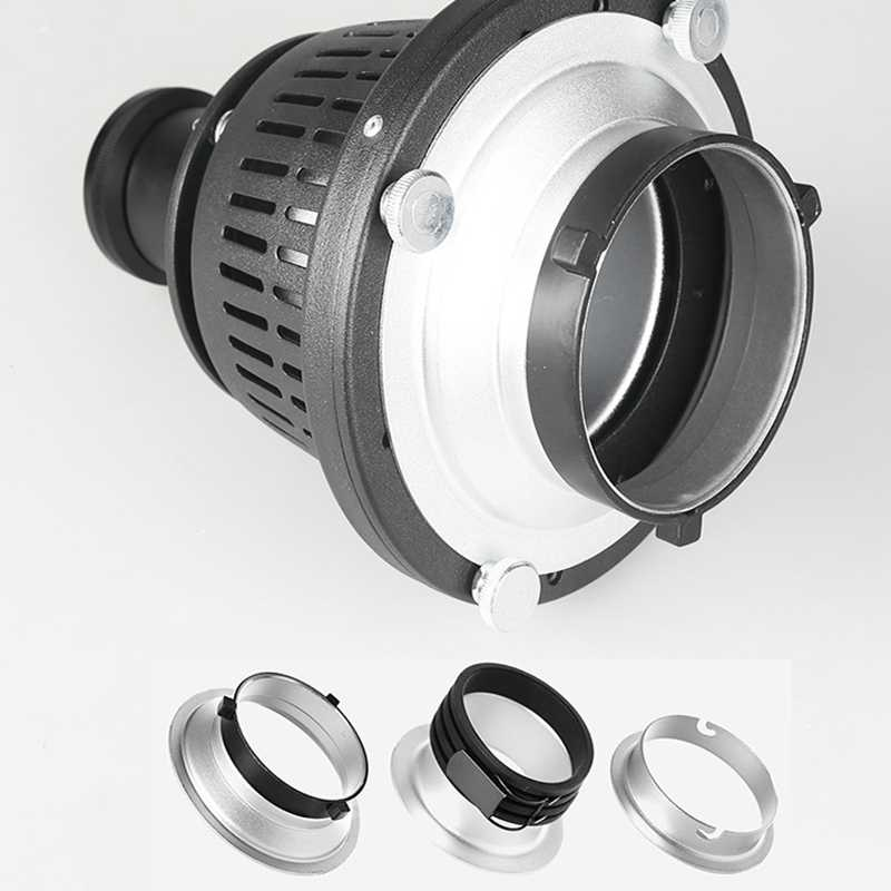 A fotografia focaliza snoots cónicos forma óptica condensador cor gel filtros arte efeitos especiais feixe flash luz cilindro.