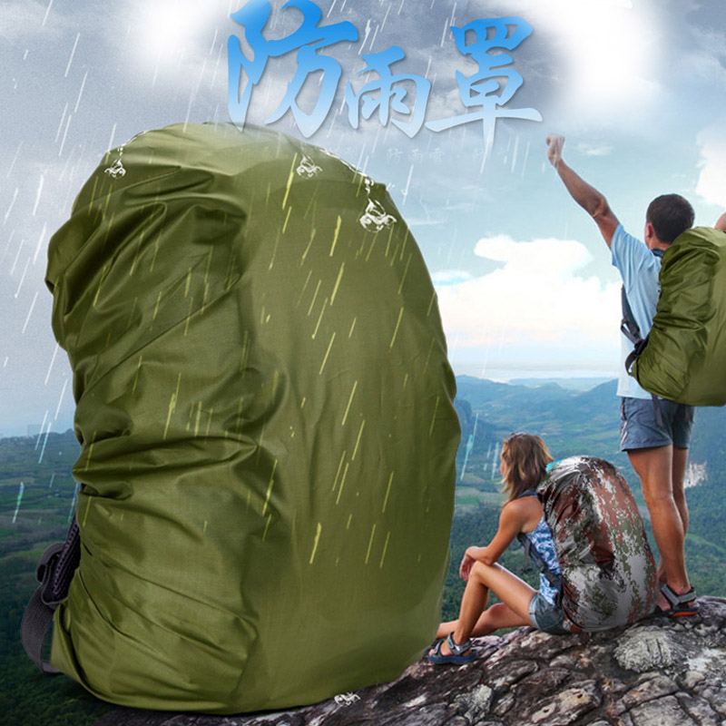 WAR GROUND Rain Cover <font><b>Backpack</b></font> Reflectiv <font><b>35L</b></font> 40L 50L 60L Waterproof Bag Camo Tactical Outdoor Camping Hiking Climbing Raincover image