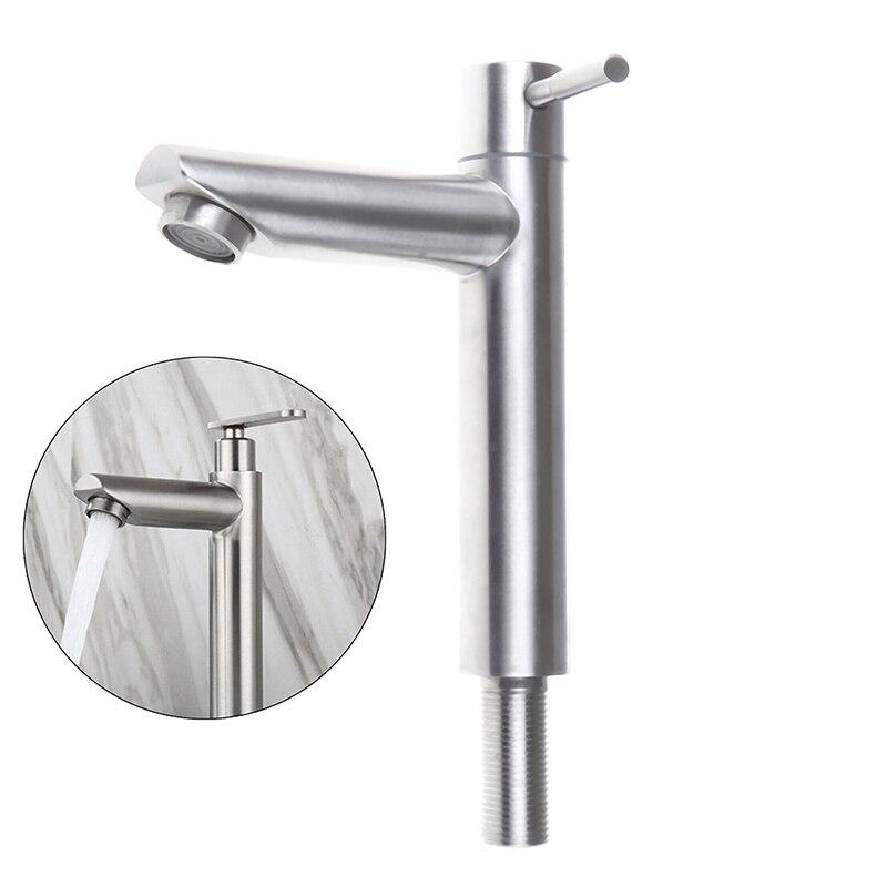 Смеситель для ванной комнаты смеситель для умывальника из нержавеющей стали 18,7*10,5*12 см