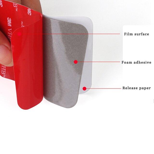 двухсторонняя клейкая лента из акриловой пены сверхпрочная монтажная фотография