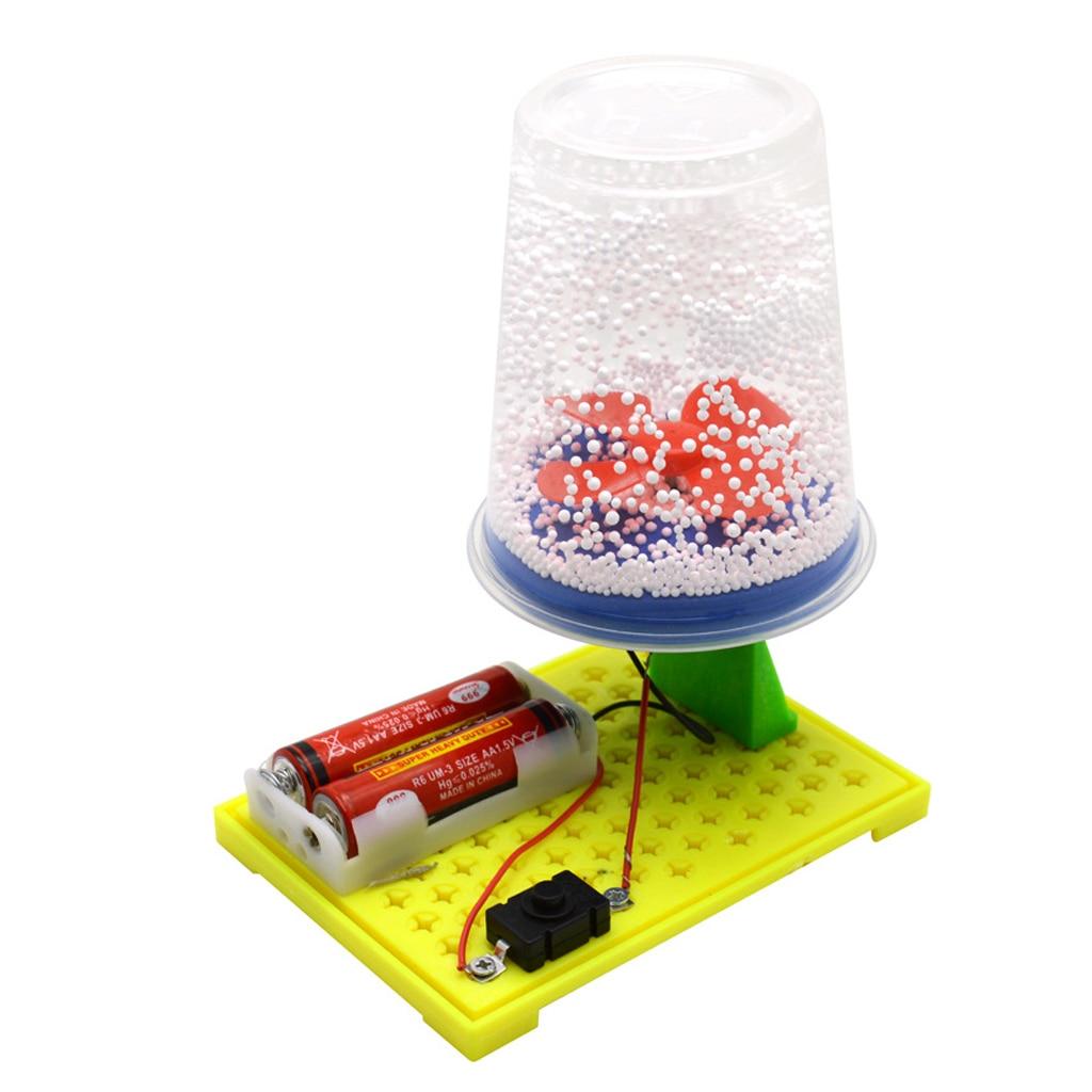 Детские наборы для экспериментов, электрическая Электростатическая модель снега, DIY сборочная игрушка, Детская развивающая игрушка