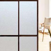 цена WXSHSH Frosted Window Film Matte Sun Black Self adhesive Vinyl Glass Door Stickers Opaque Privacy Window Tint For Home Office онлайн в 2017 году