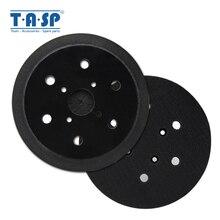 """TASP 150 мм """" крюк и петля шлифовальная Подложка для замены орбиты шлифовальный диск электроинструменты аксессуары"""