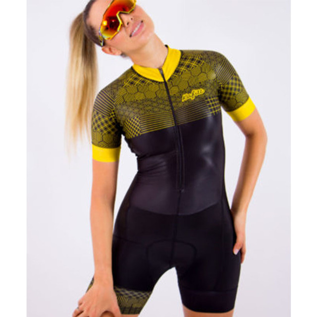 2020 pro team triathlon bike wear manga curta collant ciclismo wear 9d gel feminino terno de uma peça 5