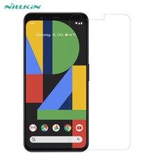 2 шт./партия Защита экрана для Google Pixel 4/Pixel 4 XL NILLKIN Супер прозрачная защитная пленка против отпечатков пальцев для Pixel 4 XL
