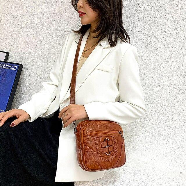 Женская сумочка из высококачественной искусственной кожи 2