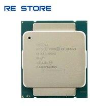 Usado Intel Xeon E5 2673 V3 30M LGA2011 3 12 Núcleos de 2.4GHz processador E5 2673V3 cpu
