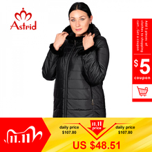 Hotsale الشتاء سترة معطف الإناث قصيرة مقنعين حجم كبير الأصفاد الدافئة شعر النساء سترة بدة الملابس أوكرانيا جاكيتات AM 2059