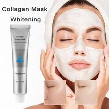 50g Korea Collagen Sleep Mask All Night Hydrating Sleep Mask Wash Free Repair Oil-Control Acne Treatment Shrink Pore Purify Skin