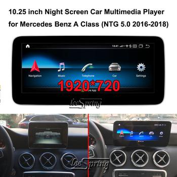 10.25 inch 1920*720 Car Multimedia Player for Mercedes Benz A class W176 A180 (NTG5.0 2016-2018) Car GPS Navigation image
