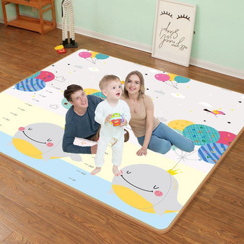 XPE przyjazne dla środowiska grube dziecko indeksowania mata do zabawy mata składana dywan mata do zabawy dla dzieci mata bezpieczeństwa Kid dywan Playmat tanie i dobre opinie CN (pochodzenie) 200cmX180cmX0 5cm Unisex Edukacyjne SOFT Sport Cała 0 5 cm 3 lat
