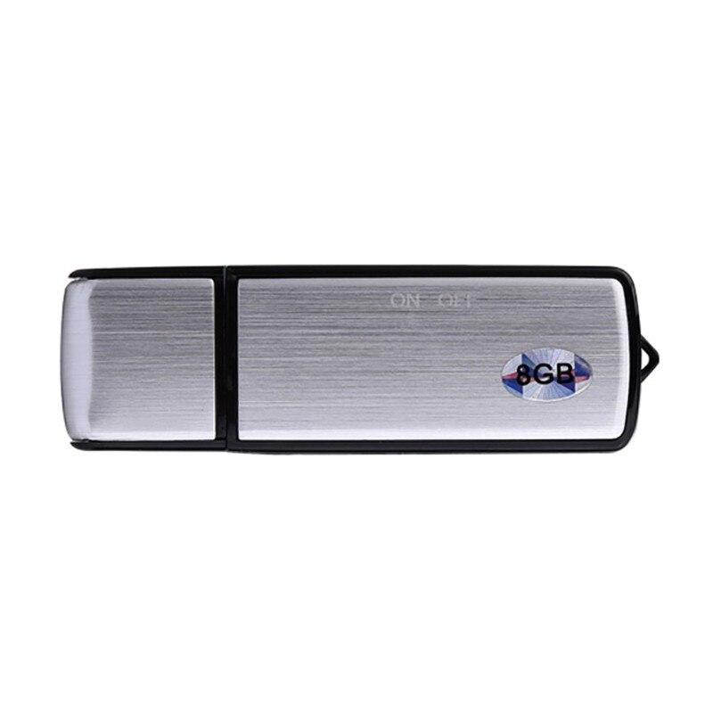2 in 1 USB Flash Drive Digital Audio Voice Recorder USB Flash Disk USB Pendrive Voice Recording Dictaphone USB Stick Flash Drive