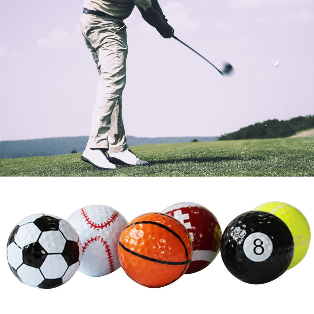 6pcs/set Golf Balls Gift Ball Kit (Football,Basketball,Table Tennis) Toys Mold
