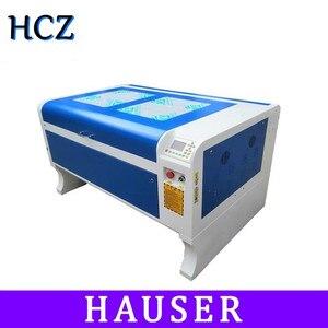 Бесплатная доставка HCZ 80 Вт co2 лазерная 6090 Лазерная гравировальная машина лазерная маркировочная машина 1000*600 мм станок для лазерной резки ф...