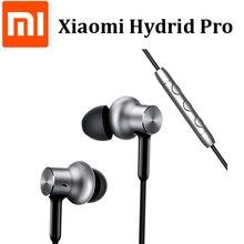 سماعة أذن أصلية من شاومي Mi مزودة بتقنية هجين برو عالية الدقة ومزودة بميكروفون مع خاصية إلغاء الضوضاء
