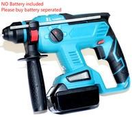 BL Hammer für Makita 18V li-ion Batterie elektrische hammer bare metall bürstenlosen