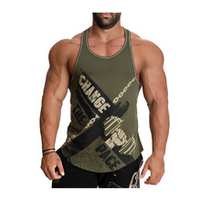 Sleeveless Shirts Vest Tank-Top Brand-Clothing Bodybuilding Work-Out Print Musculacion