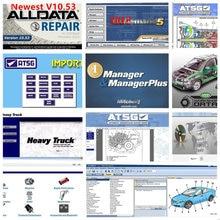 Software 2021 atsg vívido oficina 49 em disco rígido de 1tb todos os dados 2015 software quente do reparo de automóveis alldata v10.53 m .. chell on-dem ..