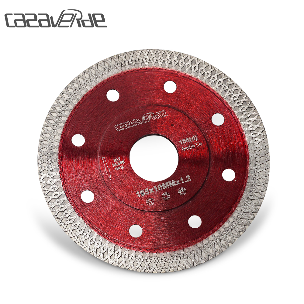 Free Shippingcasaverde D105mm Super Thin Diamond Ceramic Saw Blade Porcelain Cutting Blade For Cutting Ceramic Or Porcelain Tile