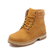Womens Snow Boots 2019 New Ladies  Winter Shoes Warm in the Tube PU