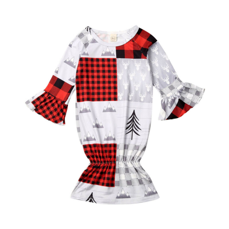 0-24M Newborn Sleeping Bags Baby Boy Girl Christmas Swaddle Wrap Blanket Long Sleeve Print Cotton Mermaid Toddler Sleeping Bag