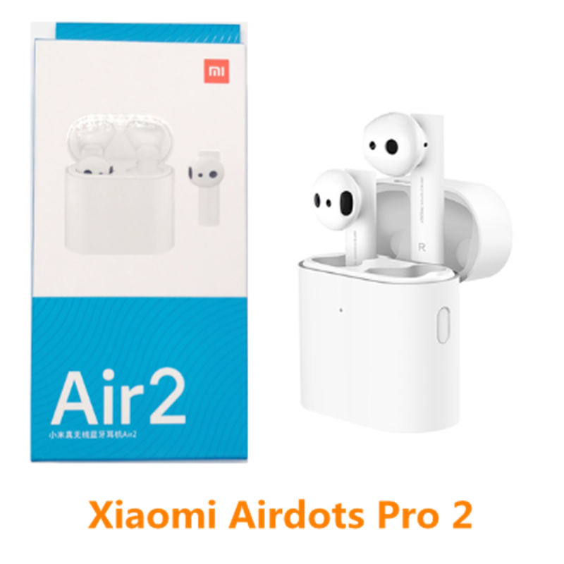 Original Xiaomi Air 2 TWS Airdots Pro 2 Mi Air 1 vrai sans fil écouteurs ENC Bluetooth 5 robinet contrôle vocal LHDC dynamique - 2