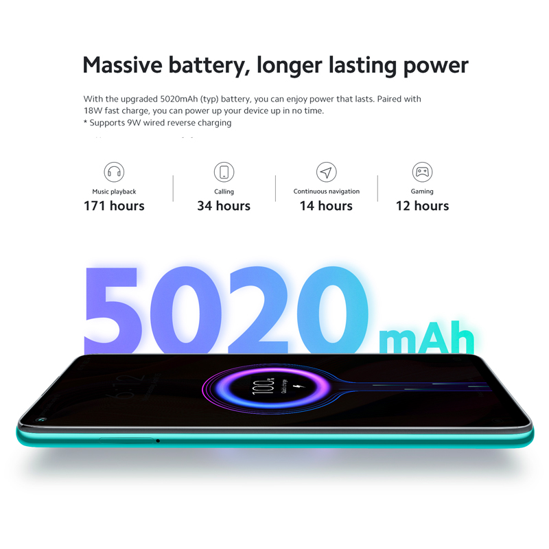 Global Version Xiaomi Redmi Note 9 64GB / 128GB Smartphone Helio G85 Octa Core 48MP Quad Rear Camera 6.53