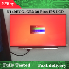 14.0 inch FHD 1920X1080 72% NTSC EDP 30pins N140HCG-GQ2 Matte N140HCG-GR2 Glossy LED Screen LCD Display IPS Matirx FRU: 01YN158(China)