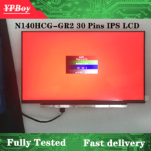 Lcd-Display Led-Screen 30pins N140HCG-GQ2 1920X1080 FHD EDP Matte Fru:01yn158 Glossy