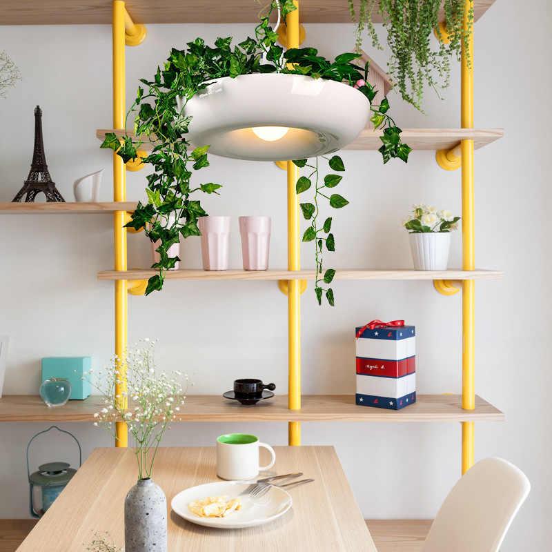 Nordic aerea vaso di fiori luce studio luce del pendente personalità creativa bar pianta in vaso piante Babylon ristorante bar lampada a sospensione