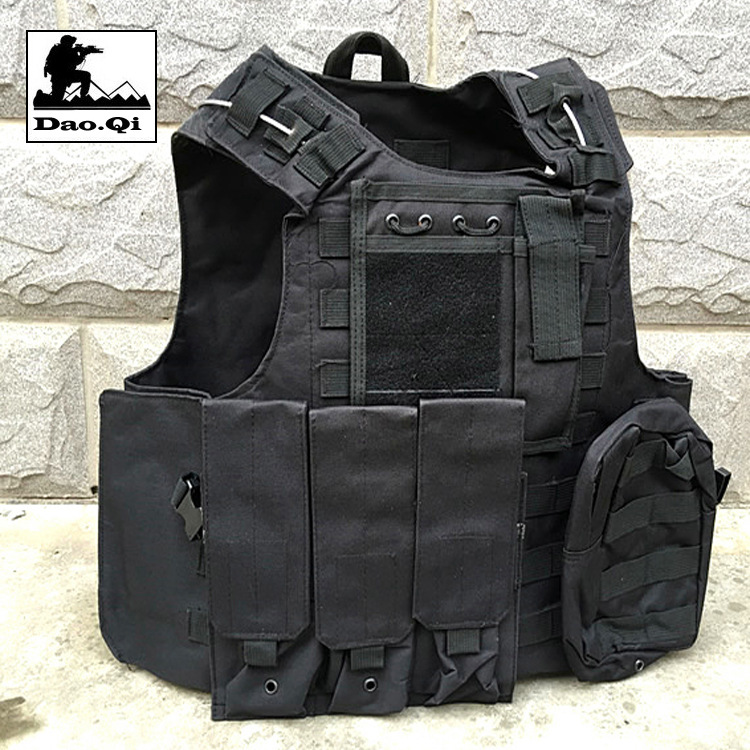 Dodge Tactical Vest Special Forces Steel Wire Ghost Amphibious Waistcoat Outdoor Army Fans CS Field Operations Protection