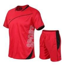 Fato de treino masculino M-4XL verão venda quente dos homens conjuntos t camisas + shorts duas peças conjuntos casual treino masculino o-pescoço sólido