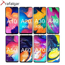 Para samsung galaxy a10 a105 a20 a205 a20e a202 a30 a305 a40 a405 a50 a505 a60 xiaomi a70 a80 a90 tela de toque lcd 5g a908