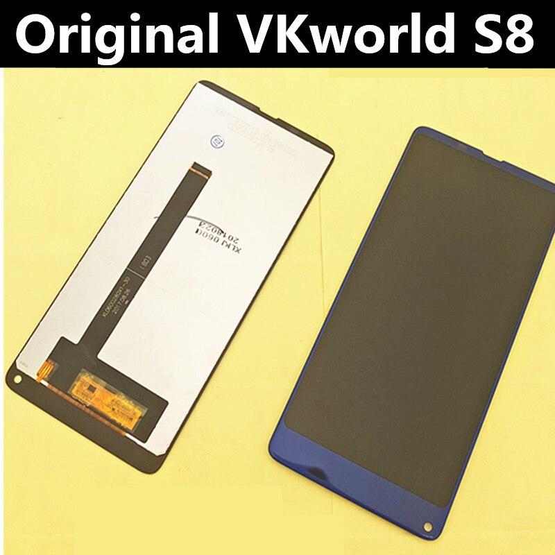 الأصلي ل VKworld S8 شاشة الكريستال السائل + شاشة تعمل باللمس + أدوات محول الأرقام الجمعية استبدال اكسسوارات ل فون 5.99screen touch5 screenscreen assembly -
