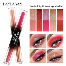 HANDAITAN Professional Eyeshadow Palette Eye Makeup Glitter Matte Shadow Long-lasting Make Up Cosmetic Waterproof