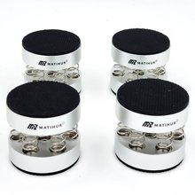 A almofada de pé audio do amplificador do cd do pico dos pés do suporte da alta fidelidade da almofada de amortecimento da mola dos picos do choque audiófilo único peso dos produtos 102g