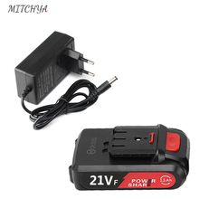 21V Cordless Drill Battery Rechargeable High capacity Power tools Professional Cordless Screwdriver