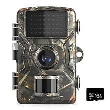 12MP 1080P yaban hayatı kamera avcılık takip kamerası ile 16GB/32GB TF kart güvenlik kamera IP66 su geçirmez kızılötesi gece görüş