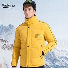 7 Color Options 2019 Winter Warm Down Jacket Men's 90% White