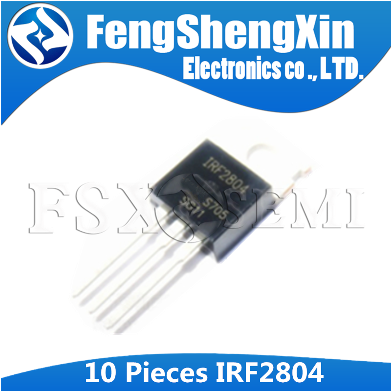 10pcs IRF2804S F2804S IRF2804STRPBF TO263   40V//75A NEW