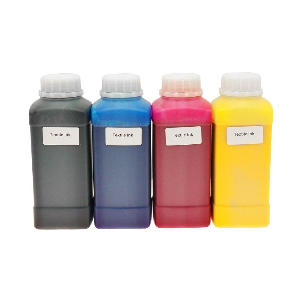 DTG Принтер чернила текстильные чернила для Epson L800 L805 L1805 планшетный принтер цветные чернила