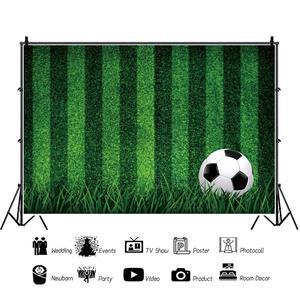 Image 2 - خلفيات كرة القدم للتصوير الفوتوغرافي ، العشب الأخضر ، هدف ملعب الأطفال ، منطقة التصوير ، خلفية الصور ، صورة عيد الميلاد
