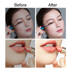 Image 5 - Draagbare Led Make Up Spiegel Intelligente Verstelbare Opvouwbare Make Up Spiegel Touch gevoelige Controle Led Vanity Spiegel Met Verlichting