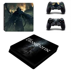Image 2 - Bloodborne PS4 Slim Skin Sticker Decal Vinyl for Dualshock Playstation 4 Console & Controller PS4 Slim Skins Stickers Vinyl