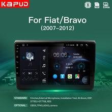 Kapud GPS 4G Android coche Radio reproductor Multimedia para Fiat Bravo 2007, 2008, 2009, 2010, 2011, 2012 navegador estéreo DSP WIFi SWC