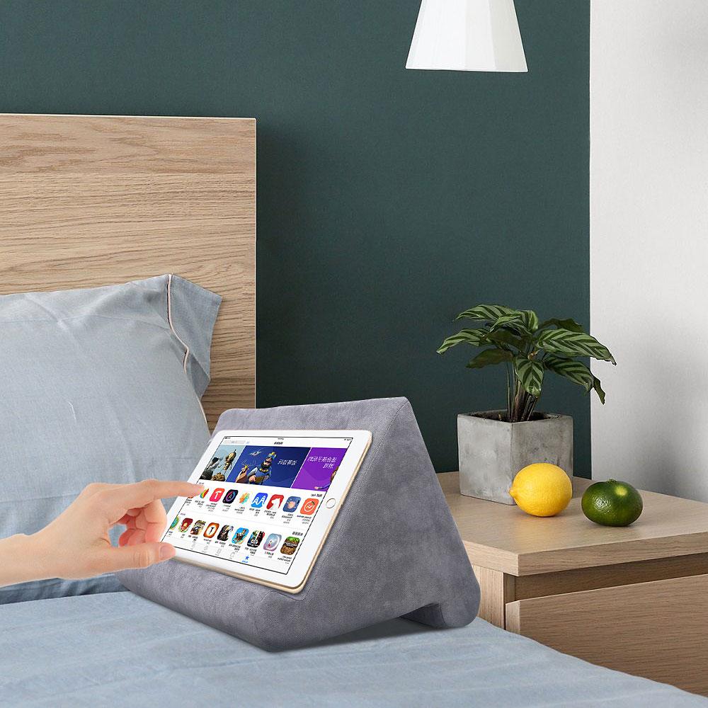 Esponja travesseiro tablet suporte para tablet suporte do telefone cama resto tablette suporte de leitura para ipad samsung huawei xiaomi 2