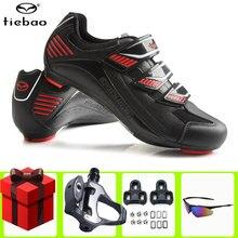 Los nuevos hombres profesional zapatos de ciclismo de carretera deportes ciclismo zapatillas de deporte mujeres MTB SPD-SL bicicleta zapatos con tacos para pedales hombre girando