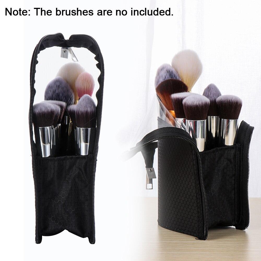 Waterproof Makeup Brush Holder Dust-proof Cosmetic Bag Brush Storage Travel Case For Brush Women Brush Organizer Makeup Tools