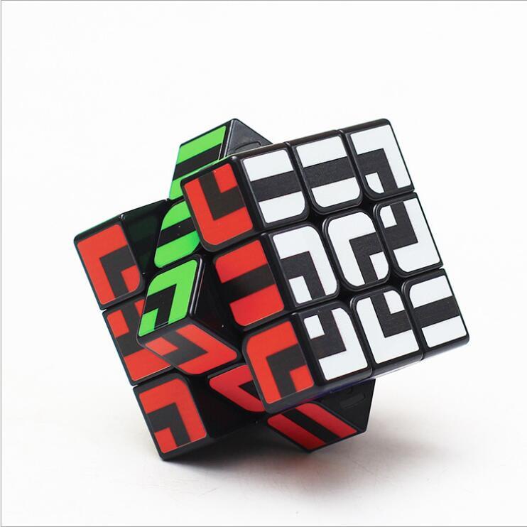 ZCUBE Puzzle Magic Cube FanXin Gear Cube 3x3x3 3*3*3 Speed Cube Professional Logic Game Toys Strange Shape Twist Wisdom Club Z