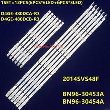 Taśmy LED 9 dla tej lampy SAMSUNG 2014SVS48F UA48J5088AC UE48H6400 UE48H6200AK BN96 30453A D4GE 480DCA R3 D4GE 480DCB R3 ue48h6500